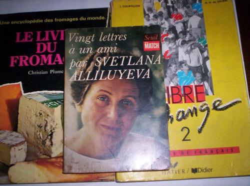 lote de libros en francés