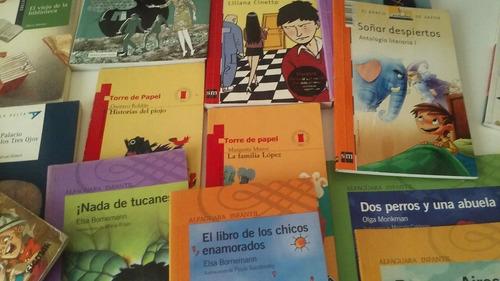 lote de libros usados y nuevos. literatura infantil
