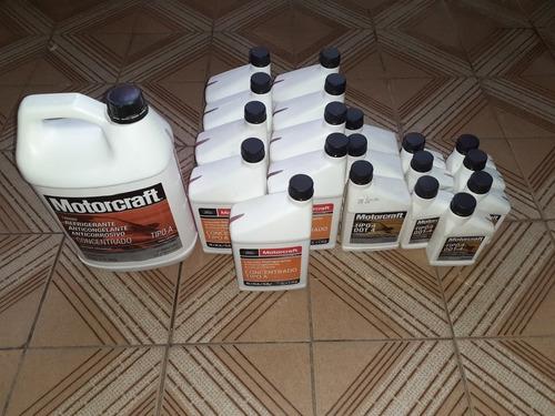 lote de liquido de freno y refrigerantes motorcraft