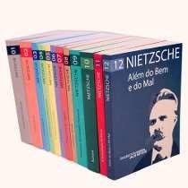 lote de livros coleção nietzsche (8 livros) + 10 de brinde