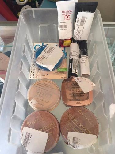 lote de maquillaje y productos de belleza