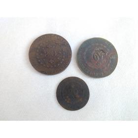 Lote De Moedas De Reis 80-1828/40-1831/20- 1829