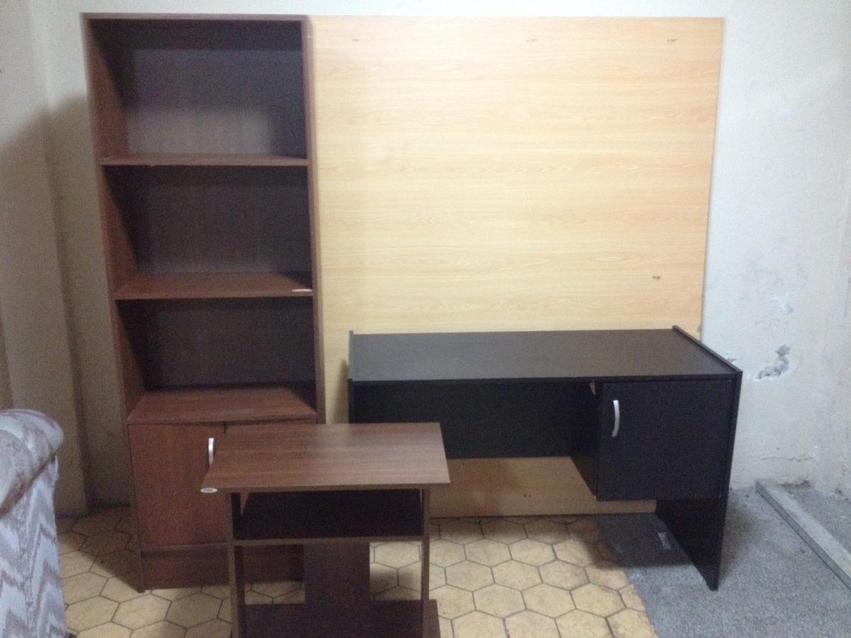 Lote de muebles para oficina u hogar mesa escritorio for Cotizacion muebles para oficina