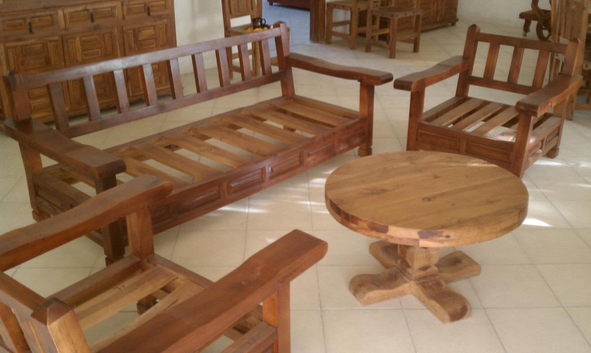 Muebles rusticos precios dise os arquitect nicos for Muebles de algarrobo precios