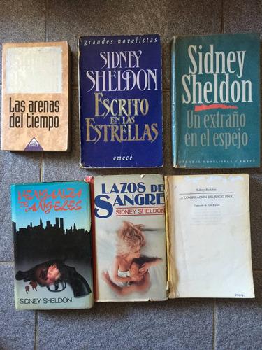 lote de novelas de sidney sheldon