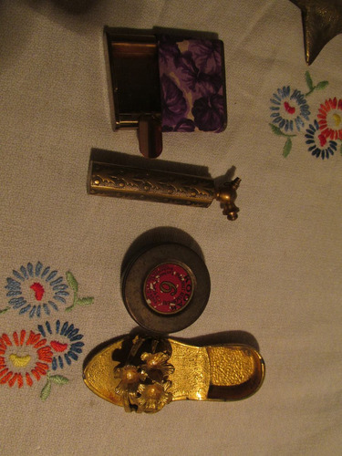lote de objetos . bronce