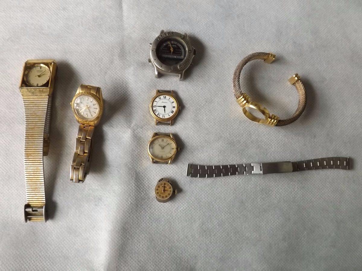 d561f935b27 Lote De Peças De Relógios - Valor Do Lote   2355 - R  50