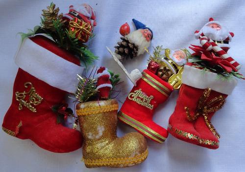lote de peças para decoração natalina - a30