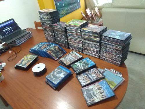 lote de películas - copias en formato dvd y blu ray