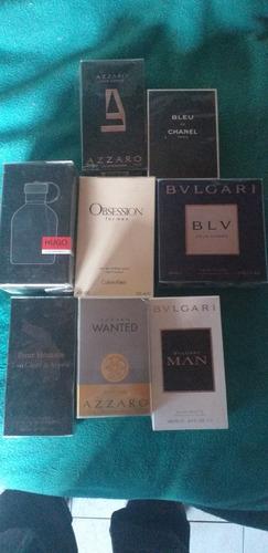 lote de perfumes originales varias marcas