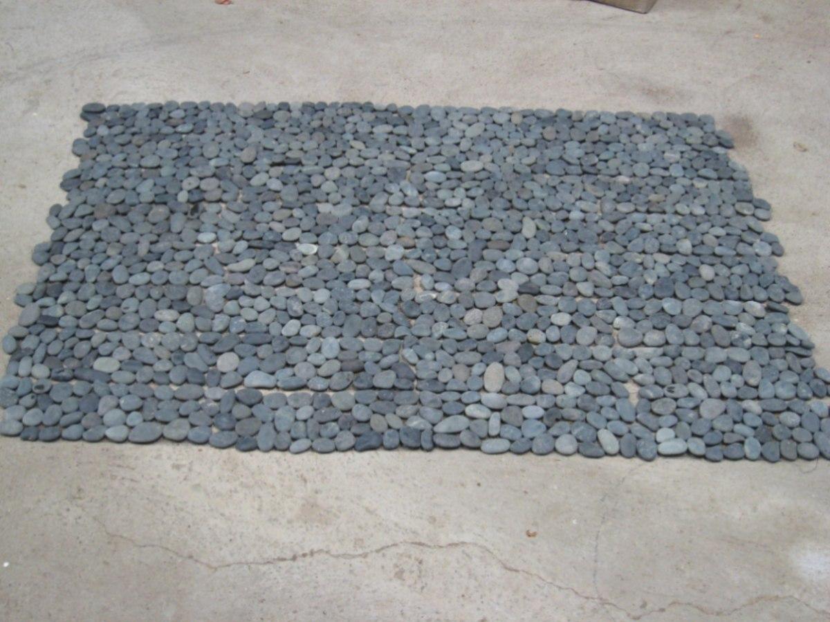 Lote de piso de piedra negra en malla 6 en for Donde buscar piso