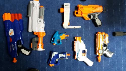 lote de pistolas nerf