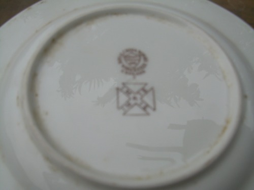 lote de platos ingleses