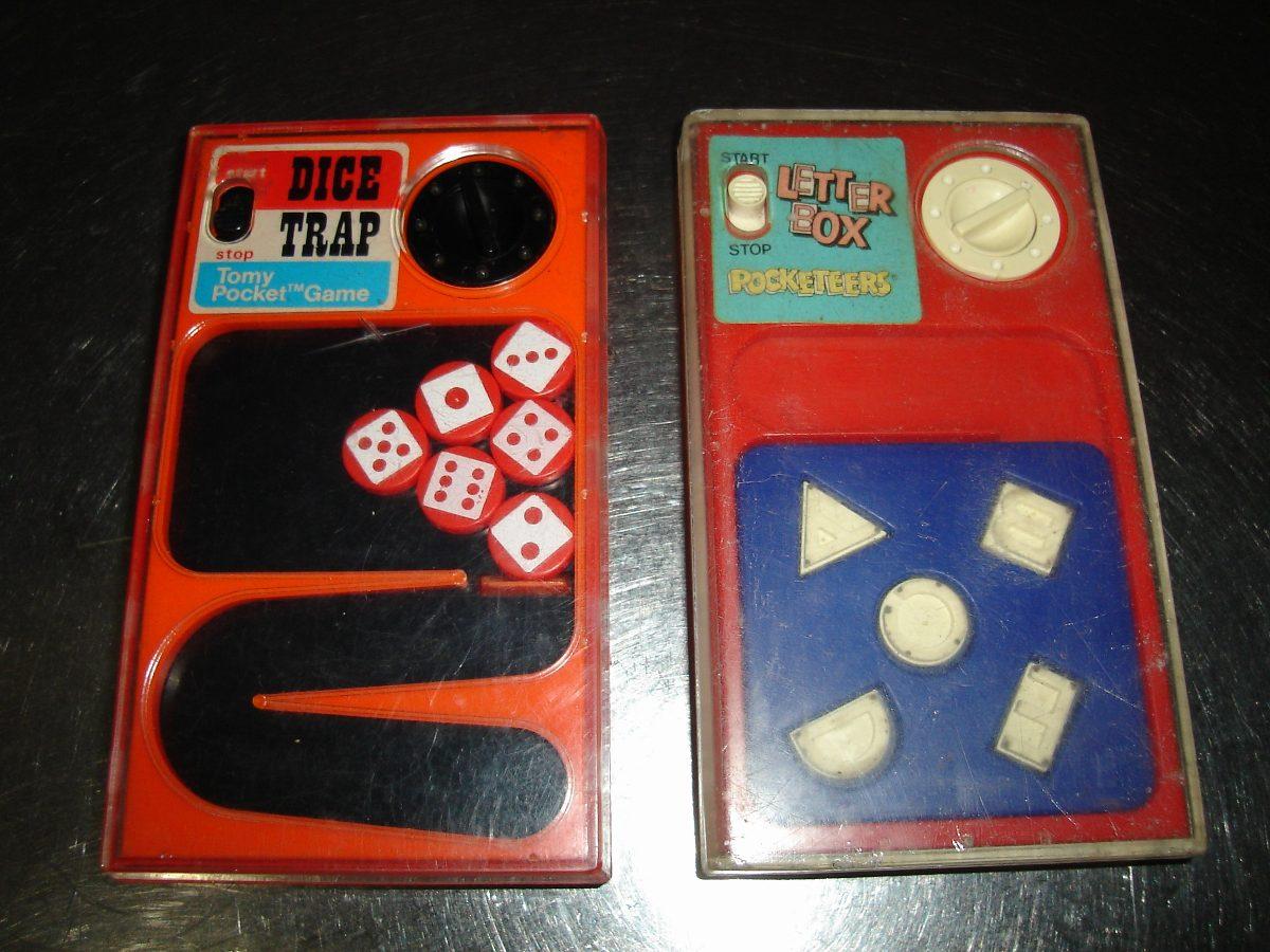 Lote De Pocketeers Tomy Juegos Antiguos Jueguito Retro 800 00 En