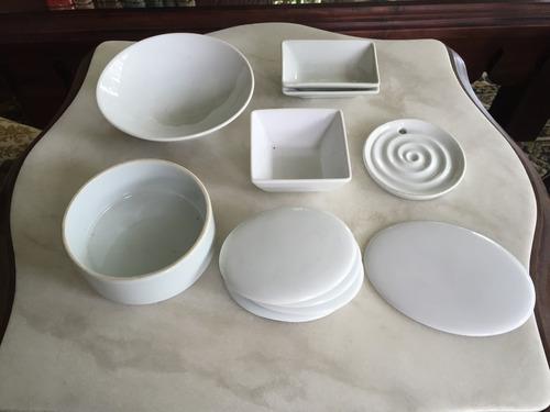 lote de potes e outra peças de porcelana. #5484