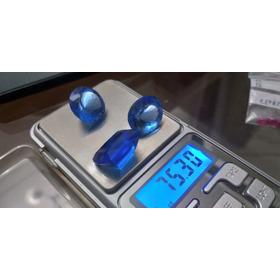 Lote De Quartzo Azul Com 75.30 Cts Gemas Lapidadas