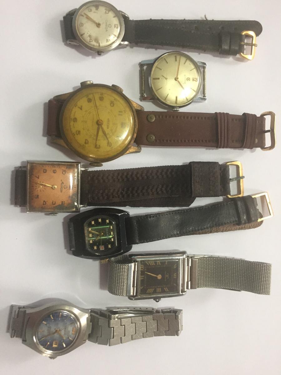 494c6f48855 Lote De Relógio De Pulso Para Restauro Ou Aproveitamento - R  550