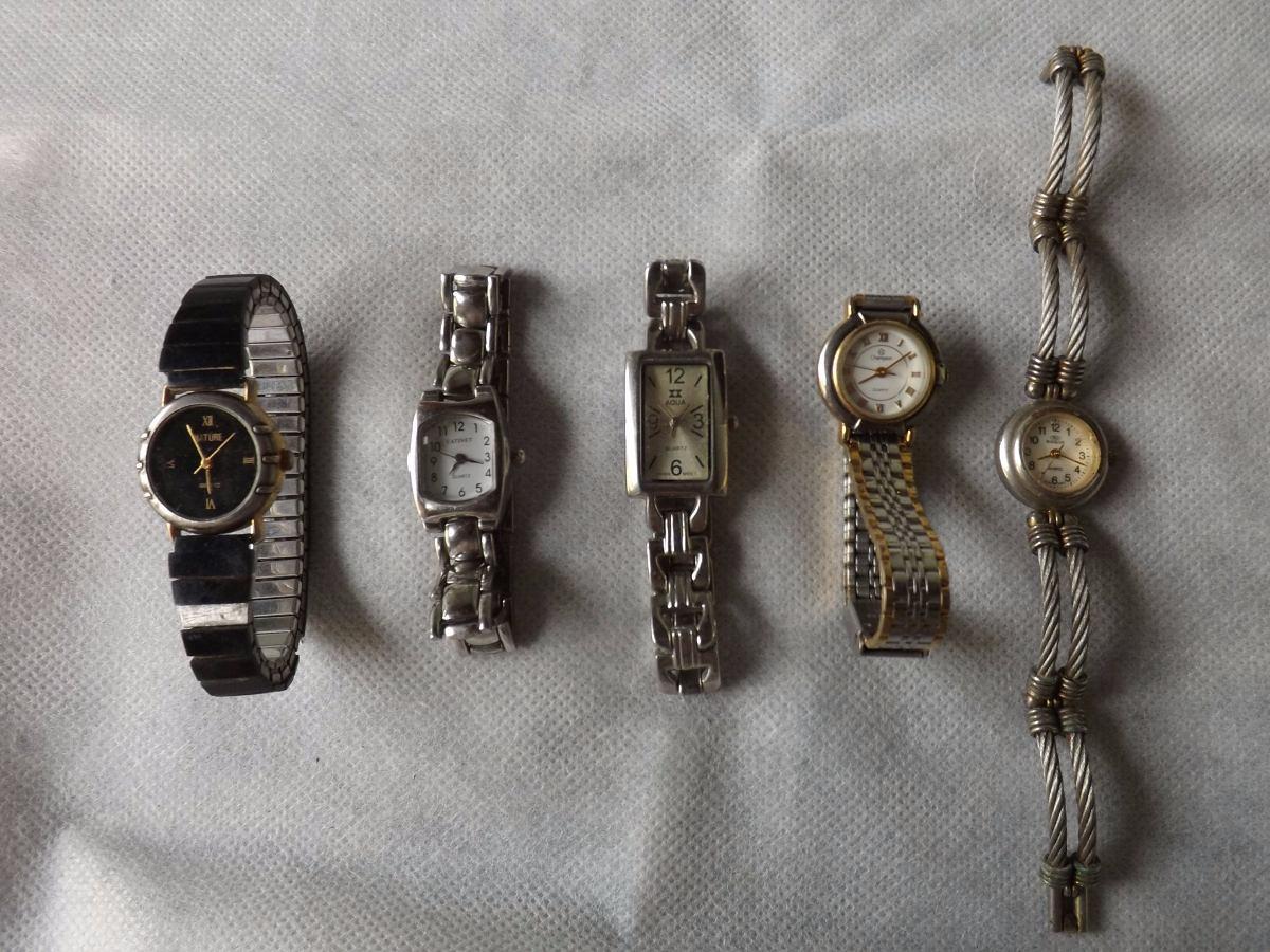 e18859f35b7 Lote De Relógios Femininos - Valor Do Lote   2361 - R  50