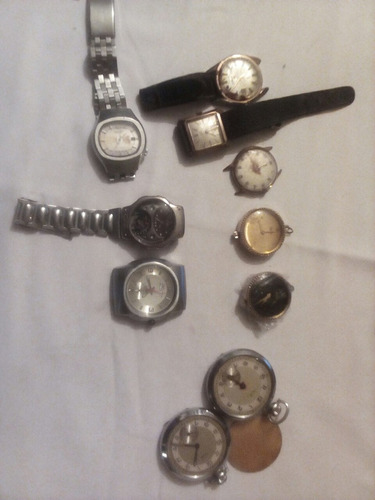 lote de relojes para repuesto o para restaurar