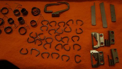 lote de repuestos de maquinas de coser