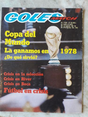 lote de revistas goles 1746 1729 1532 1537 1535 1533 y mas