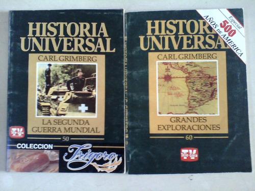 lote de revistas  historia universal segunda guerra mundial
