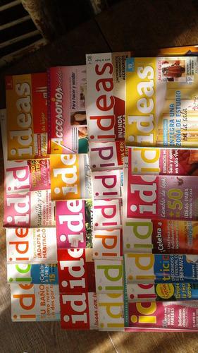 lote de revistas ideas