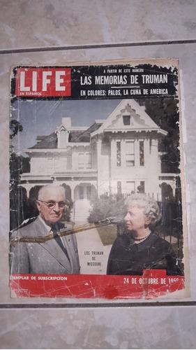 lote de revistas life en espanol décadas de 1950 e 1960