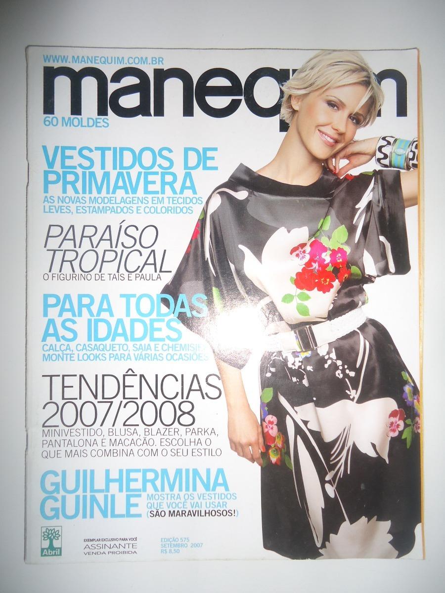 7f2e9cad02 lote de revistas manequim ano 2007 com moldes. Carregando zoom.