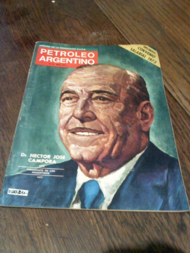 lote de revistas: petróleo argentino/1972-74 y contacto 1973