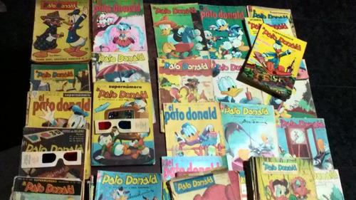 lote de revistas wolt disney mas  de 55 unidades