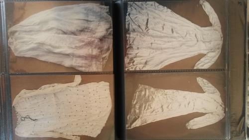 lote de ropa de mujer  del siglo xix y xx