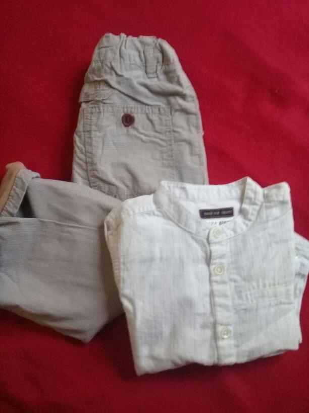lote de ropa formal bebe 12 a 18 meses varon. Cargando zoom. 4b121b00214d