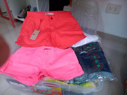 lote de ropa nueva importada miami-usa. 100 piezas a $ 1000