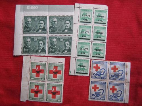 lote de sellos chilenos 02