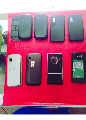 lote de smartphones quebrados para retirar peças