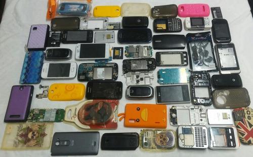 lote de sucatas de celulares, leia a descrição.