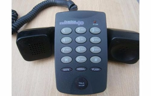 lote de telefones - 1 voip usb + 3 convencionais + brindes