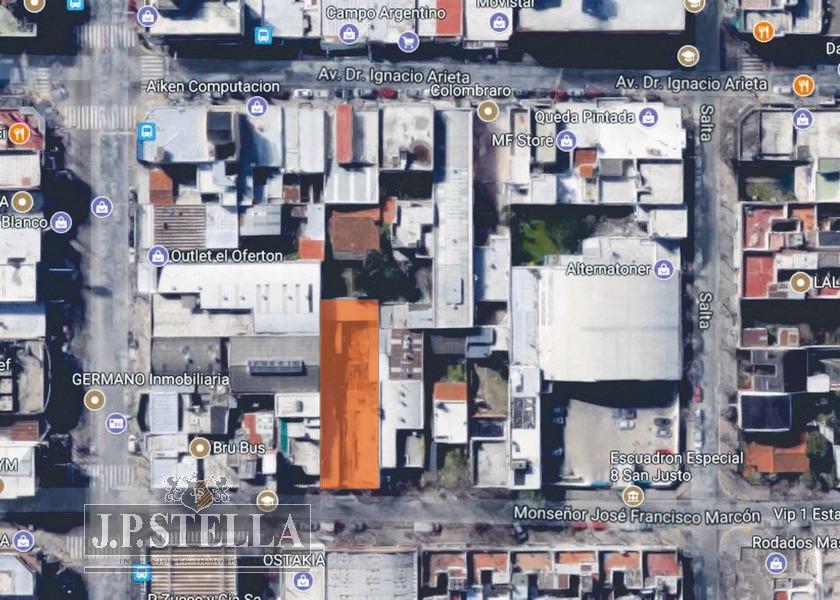 lote de terreno de 563 m² - ideal estacionamiento y/o garage - s.justo (ctro)