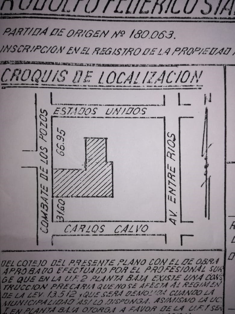 lote de terreno en san cristobal - capital federal