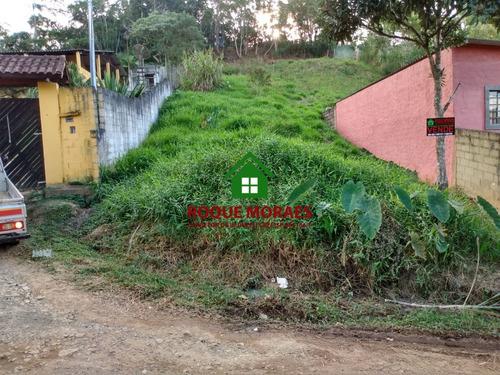 lote de terreno medindo 400 m², juquitiba com iptu. ref:0053