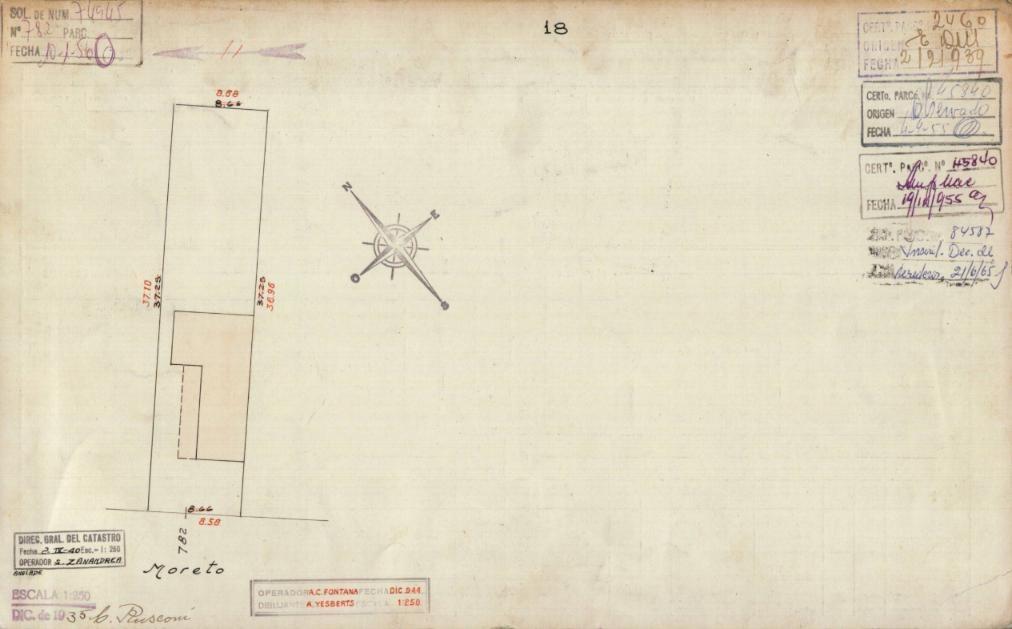lote de terreno para 480 m2-canje al 100% metros de obra