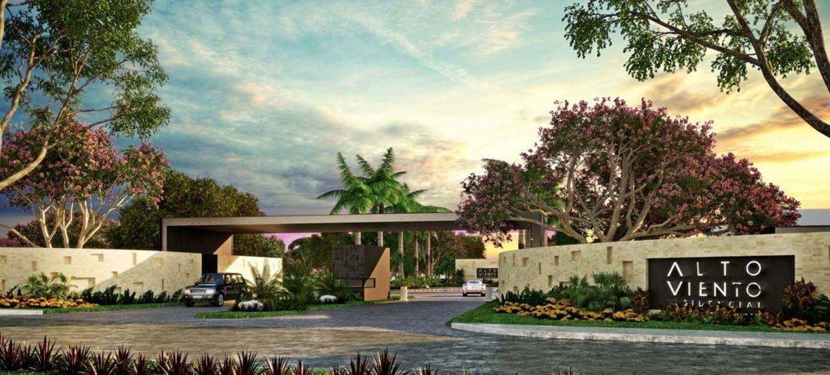 lote de terreno residencial en merida, temozon norte, privada residencial de lujo
