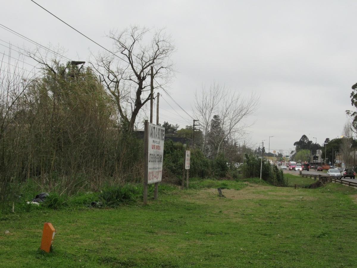 lote de terreno sobre ruta 8 pilar