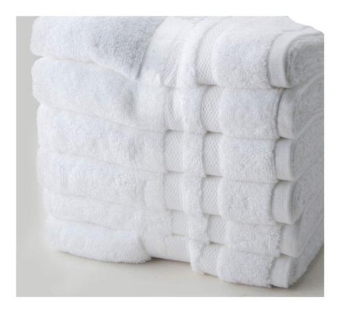 lote de toallas blanca hotelera baño, manos y faciales