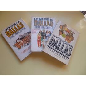 Lote De Tres Libros De La Famosa Serie Televisiva Dallas