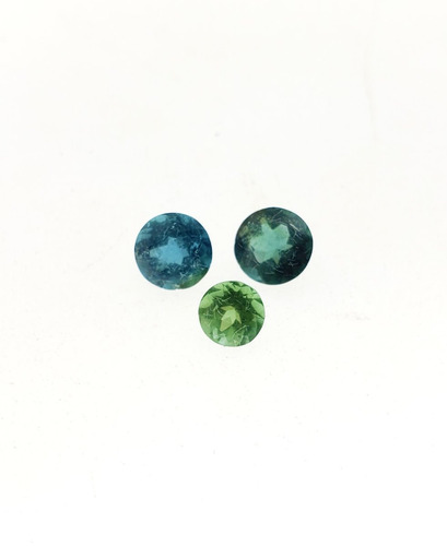 lote de turmalina verde/azul 2,17 ct 100% natura f-2402