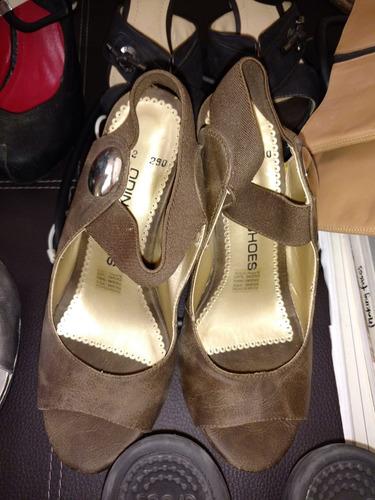 lote de zapatos de dama usados