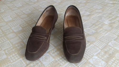 lote de zapatos mujer cuero t.39.- impecables.-