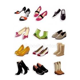 Lote De Zapatos Usados